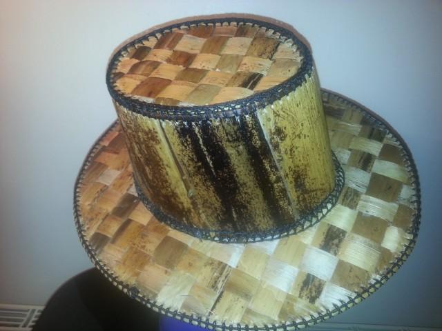 Banana cowboy hats basiima craftsbasiima crafts for Small cowboy hats for crafts