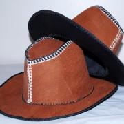 Cowboy Bark Cloth Hats