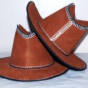 Bark Cloth Cowboy Hats
