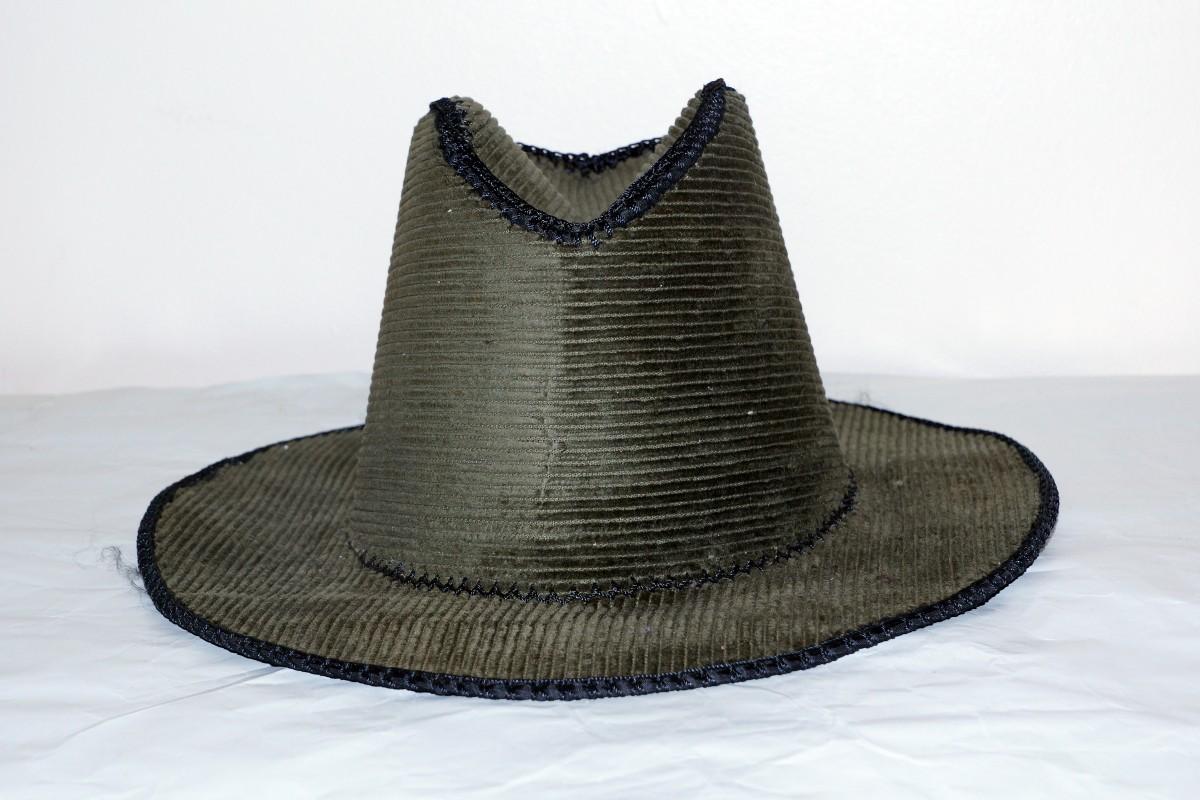 Dark Cloth Cowboy hat