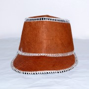 bark cloth cap