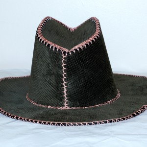 Midnight Suede Cowboy Hat